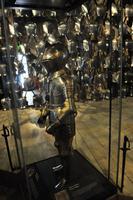 Originale Ritterrüstungen englischer Könige im White Tower