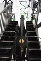 Zentriert unter dem dem Greenwich Teleskop ist der internationale Nullmeridian definiert