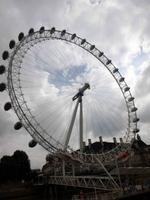 London Eye vom Boot aus