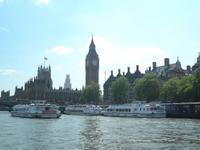 Fahrt auf der Themse in London