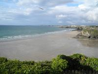Newquay Blick vom Hotel