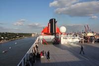 Ausfahrt mit der Queen Mary 2