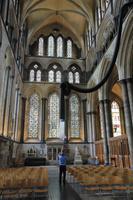 In der Kathedrale in Salisbury