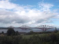 Firth of Forth Eisenbahnbrücke von 1890