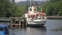 seit 1900 im Dienst: Dampfer