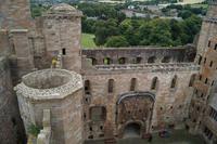 Linlithgow Palace vom Margareth'S Bower aus gesehen