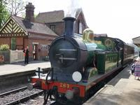 Bluebell Railway - Station Sheffield Park