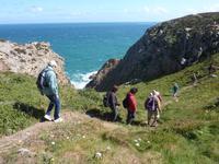 Wanderung von Grosnez zu Greve de Leq