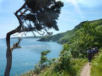 Küstenwanderung auf Jersey zur Boley Bay