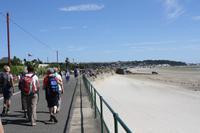 Strandpromenade St. Aubins Bay