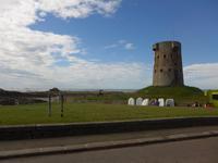Jersey-Wachturm an der Ostküste