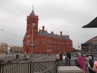 ehemaliges Bürogebäude der Bute-Unternehmungen, alter Hafen Cardiff