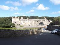 Ruine des Bischofspalastes in  St. Davids