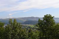 Aufenthalt in Stirling - Blick zum National Wallace Monument