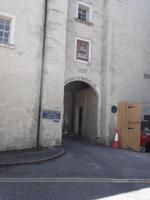 Eingang zum ehemaligen Gefängnis von Jedburgh