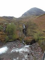 Wasserfall im Glencoe Tal