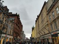Glasgow - Weihnachtsdekoration in der Innenstadt