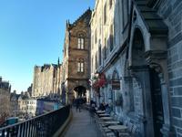 Silvester in Edinburgh - Unser Restaurant auf der Victoria Terrace