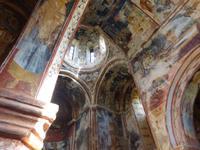 kostbare Fresken in Gelati - Kirche des Heiligen Georg