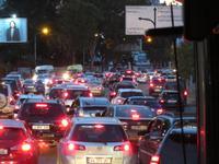 abendlicher Verkehr