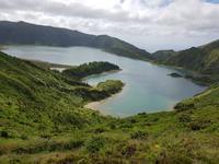Portugal, Azoren, Feuersee
