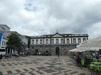 Portugal, Azoren, Terceira, Angra, Rathaus