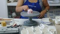Besuch einer Keramikfabrik
