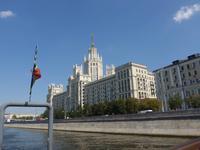 Russland, Moskau, Wohnhaus einst für die Tänzer des Bolschoitheaters gebaut
