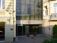 Litauen, Vilnius, Hoteleingang