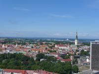 Estland, Tallinn, Blick vom Radisson Hotel