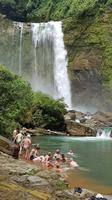 Costa Rica, Baden im ECO Chontales Wasserfall