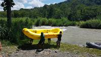 Costa Rica, Rafting Pacuare, Ankunft