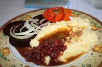 Mittagessen, gekocht mit Solarenergie