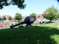 Überall im Ort Denkmäler der Seefahrt