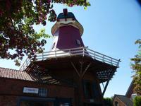 Eine der Zwinglingsmühlen in Greetsiel