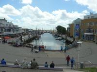 Büsum, alter Hafen