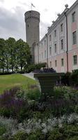 Estland, Tallinn, Schlossgarten mit Langen Herman