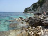 Antipaxos, Badebucht