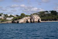 Cala Galdana vom Wasser aus