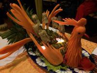 203 Abendessen im Y Thao-Garten mit Hofmusik