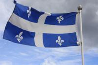 Quebec - Flagge der Provinz