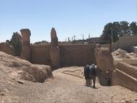 Nain - alte Stadtbefestigung - Lehmziegel-Burganlage Narin Qaleh