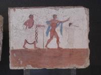 Grabmalerei im Archäologischen Museum