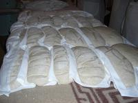 in der Brotbäckerei