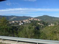 Cilento-Rundfahrt, Blick auf Campora