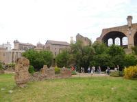 Das Forum Romanum in Rom (7)