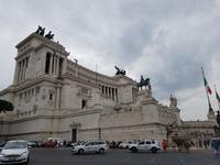 Der Monumento Nazionale a Vittorio Emanuele II Nationaldenkmal in Rom (2)