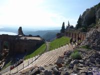 Sizilien,Taormina, Theater