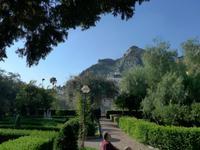 Sizilien,Taormina, Park