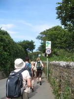 Wanderung St. Aubin's Bay zum La Corbière und St. Brélade's Bay auf Jersey